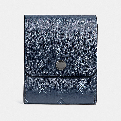 COACH GROOMING KIT WITH DOT ARROW PRINT - NAVY/MULTI - F73084