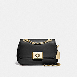 MINI CASSIDY CROSSBODY - BLACK/IMITATION GOLD - COACH F73089