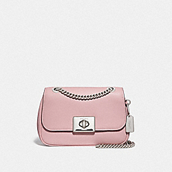 MINI CASSIDY CROSSBODY - CARNATION/SILVER - COACH F73089