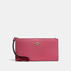 LONG WALLET - ROUGE/GOLD - COACH F73156