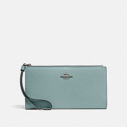 LONG WALLET - QB/SAGE - COACH F73156