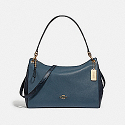 MIA SHOULDER BAG - DARK DENIM - COACH F73174