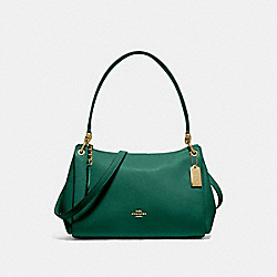 SMALL MIA SHOULDER BAG - JADE - COACH F73196