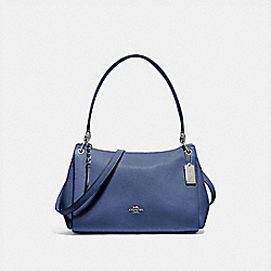 SMALL MIA SHOULDER BAG - SV/BLUE LAVENDER - COACH F73196