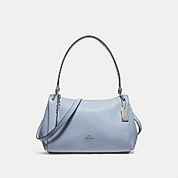 SMALL MIA SHOULDER BAG - STEEL BLUE - COACH F73196