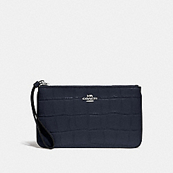 LARGE WRISTLET - MIDNIGHT/SILVER - COACH F73377