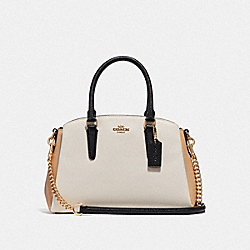 SAGE CARRYALL IN COLORBLOCK - CHALK - COACH F73712