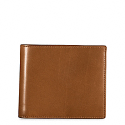 COACH WATERBUFFALO NEW COMPACT ID WALLET - ONE COLOR - F74208
