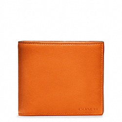 BLEECKER LEATHER COMPACT ID WALLET - f74345 - 28069