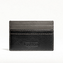 HERITAGE WEB LEATHER SLIM CARD CASE