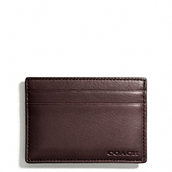 COACH BLEECKER MONEY CLIP CARD CASE - ONE COLOR - F74381