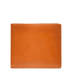 COACH HERITAGE BASEBALL DOUBLE BILLFOLD - ONE COLOR - F74474