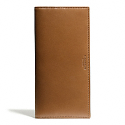 COACH CROSBY SLIM BREAST POCKET IN LEATHER - DOE - F74604