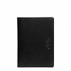 COACH CROSBY SLIM BIFOLD WITH ID IN LEATHER - ONE COLOR - F74607