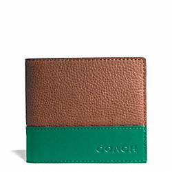 COACH CAMDEN LEATHER COIN WALLET - ONE COLOR - F74637