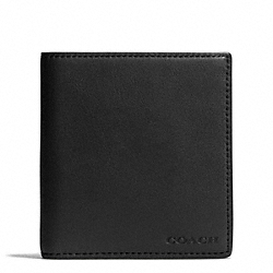 BLEECKER COLORBLOCK SLIMFOLD WALLET - SHARKSKIN/FAWN - COACH F74704
