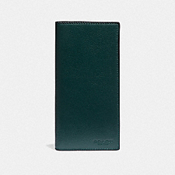 BREAST POCKET WALLET - FOREST/NICKEL - COACH F75009