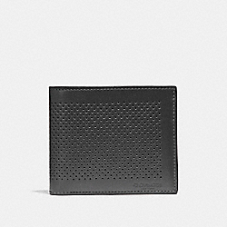 COMPACT ID WALLET - GRAPHITE - COACH F75197