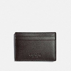 MONEY CLIP CARD CASE - BLACK/NICKEL - COACH F75459
