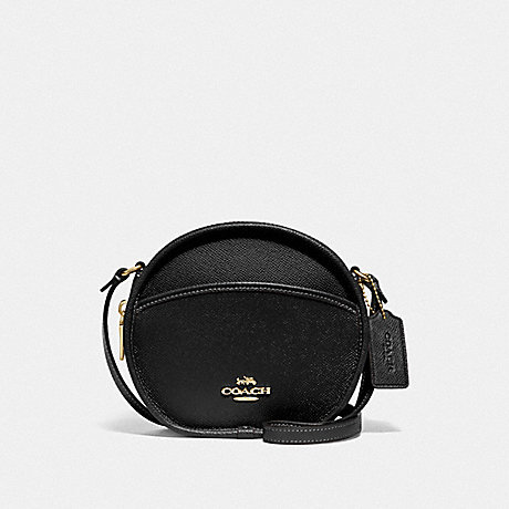 COACH CANTEEN CROSSBODY - BLACK/IMITATION GOLD - F75516