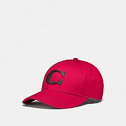 VARSITY C CAP - RED - COACH F75703