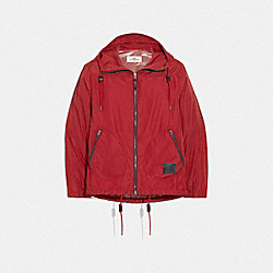 RAIN REACTIVE WINDBREAKER - CHERRY - COACH F75707