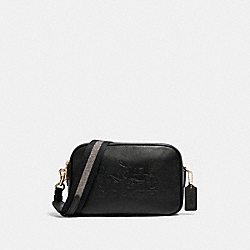 JES CROSSBODY - BLACK/GOLD - COACH F75818
