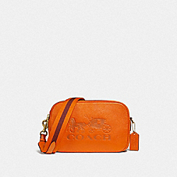 JES CROSSBODY - DARK ORANGE/IMITATION GOLD - COACH F75818