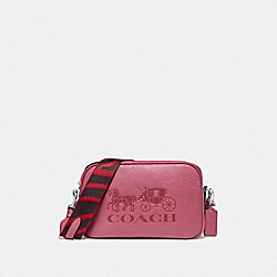JES CROSSBODY - ROUGE/SILVER - COACH F75818