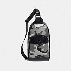 HOUSTON PACK WITH CAMO PRINT - BLACK ANTIQUE NICKEL/BLACK MULTI - COACH F75879