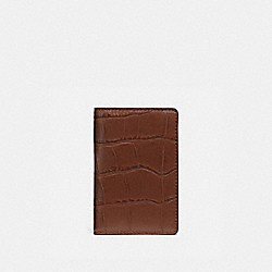 CARD WALLET - SADDLE - COACH F75913