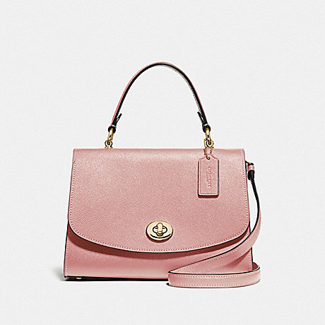 COACH TILLY TOP HANDLE SATCHEL - IM/PINK PETAL - F76618