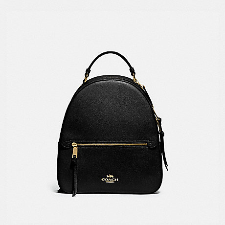 COACH JORDYN BACKPACK - BLACK/GOLD - F76624