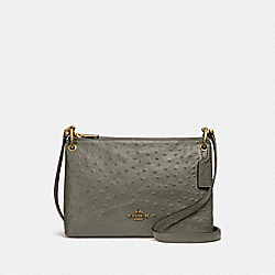 MIA CROSSBODY - MILITARY GREEN/GOLD - COACH F76644