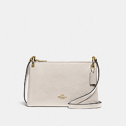 MIA CROSSBODY - CHALK/GOLD - COACH F76645
