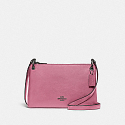 MIA CROSSBODY - QB/PINK ROSE - COACH F76645