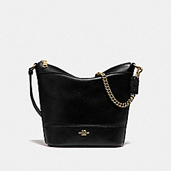 SMALL PAXTON DUFFLE - BLACK/IMITATION GOLD - COACH F76668