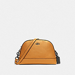 DOME CROSSBODY - QB/YELLOW - COACH F76673