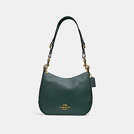 COACH JES HOBO - IM/EVERGREEN - F76695