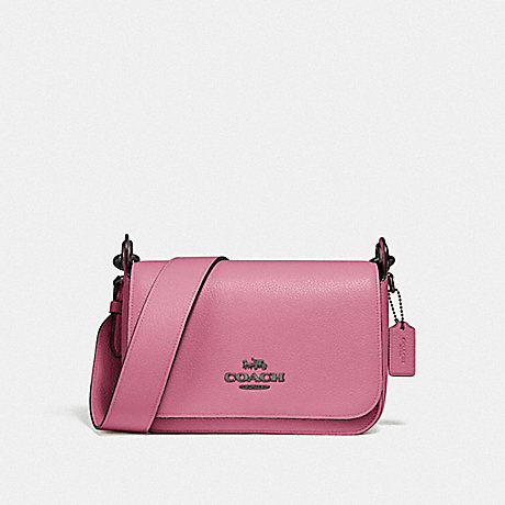 COACH SMALL JES MESSENGER - QB/PINK ROSE - F76698