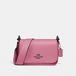 SMALL JES MESSENGER - QB/PINK ROSE - COACH F76698