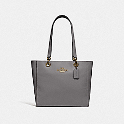 JES TOTE - IM/HEATHER GREY - COACH F76701