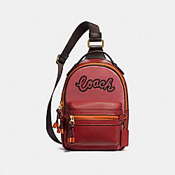 VALE SLINGPACK - ROUGE MULTI/IMITATION GOLD - COACH F76728