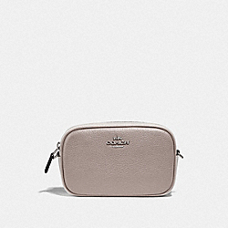 CONVERTIBLE BELT BAG IN COLORBLOCK - GREY BIRCH MULTI/SILVER - COACH F76761