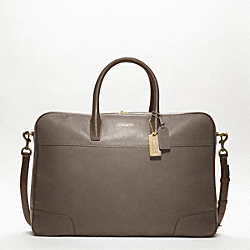 CROSBY LEATHER SOFT SUITCASE COACH F77248