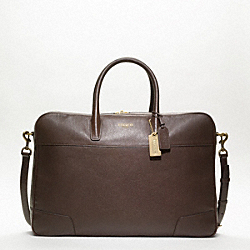 COACH CROSBY LEATHER SOFT SUITCASE - ONE COLOR - F77248