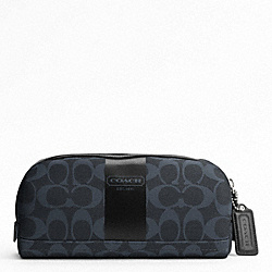 COACH COACH HERITAGE STRIPE TRAVEL KIT - SVAF5 - F77279