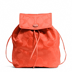COACH GETAWAY SIGNATURE PACKABLE BACKPACK - ONE COLOR - F77350