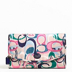 COACH GETAWAY IKAT PRINT COSMETIC KIT - ONE COLOR - F77415