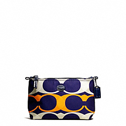 COACH GETAWAY LINEAR C PRINT MINI COSMETIC POUCH - ONE COLOR - F77426